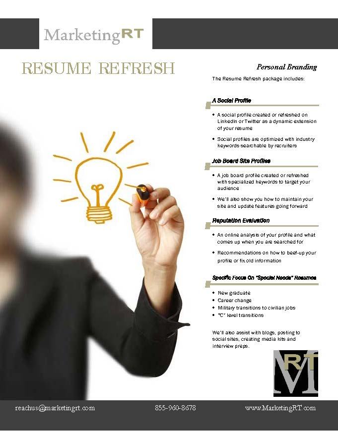 social media    resume refresh