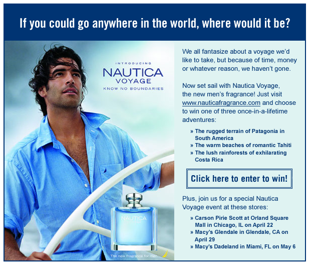 Project: Email - Nautica