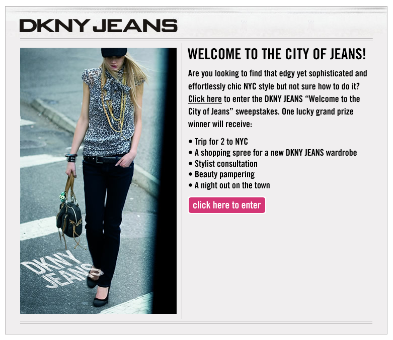 Project: Landing Pages - DNKY Jeans 1